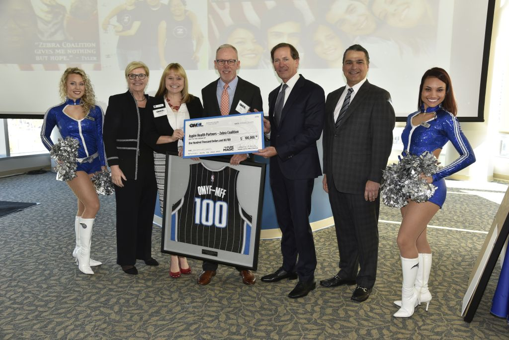 Orlando Magic Youth Fund benefits Zebra Coalition providing services to LGBT Youth